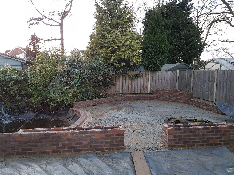 Dwarf Wall Planters Brickwork Kent