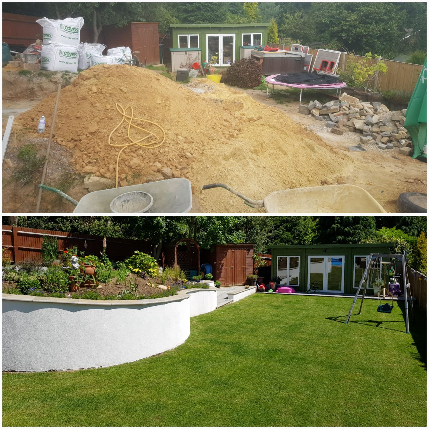 Full Landscaping Project Kent