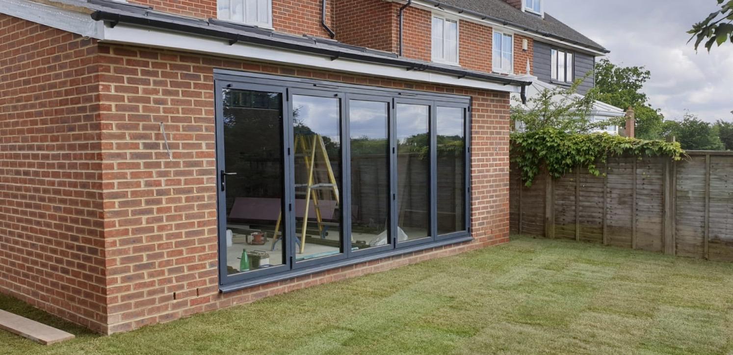 Single storey brick extension kent