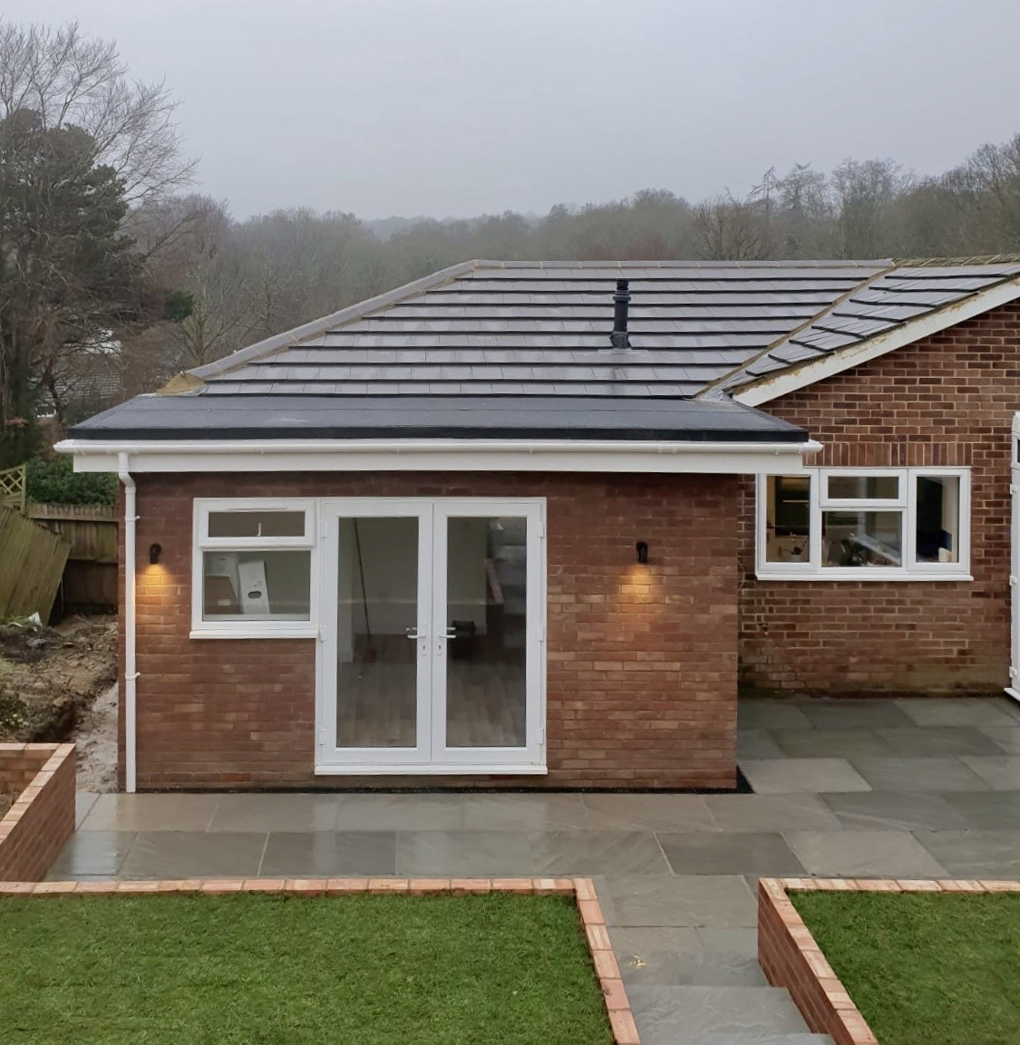 Extension and Conservatory Building Kent 1